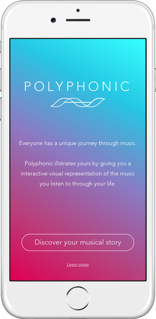 Polyphonic app splach screen